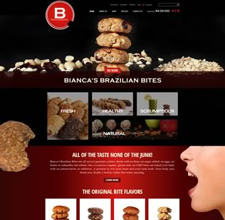 Website Design & E-Commerce for Food in BH, FL