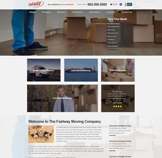 Website Design for Moving Company in BH, FL