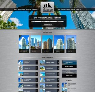 Website Design for Real Estate Company in BH, FL