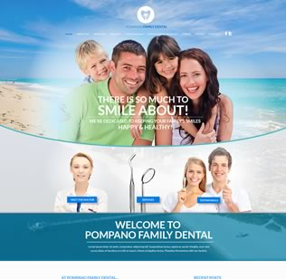 Website Design for Dentist in BH, FL